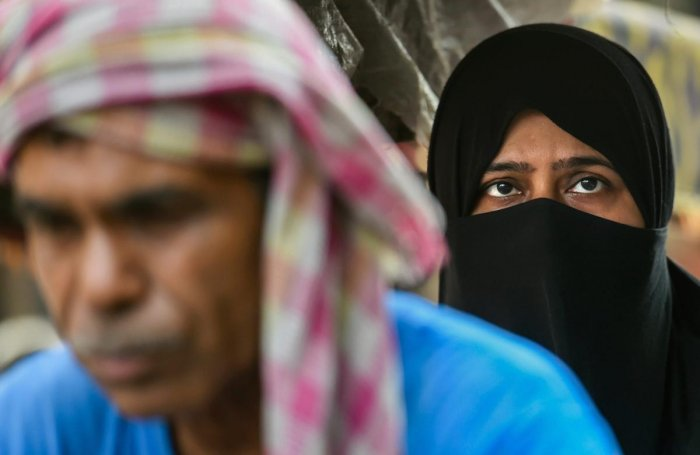 "A 34-year-old woman approached the police after her husband sent a ""talaqnama"" on a Rs 100 stamp paper in Indore in Madhya Pradesh, an official said on Saturday. (PTI Photo)"