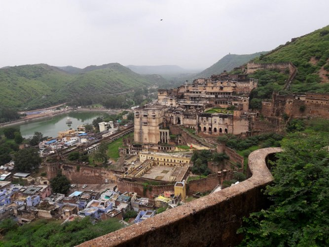 A panoramic view of Bundi Palace