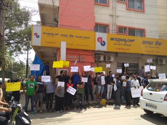 Residents staged protest a month-and-a-half ago to get the Siddhapura-Nellurahalli road repaired.