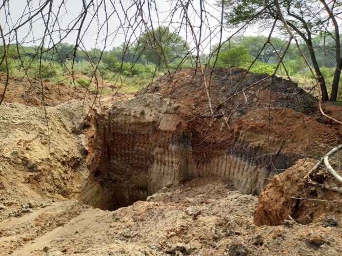 According to residents, during the real estate boom in Sarjapur illegal sand mining became rampant.