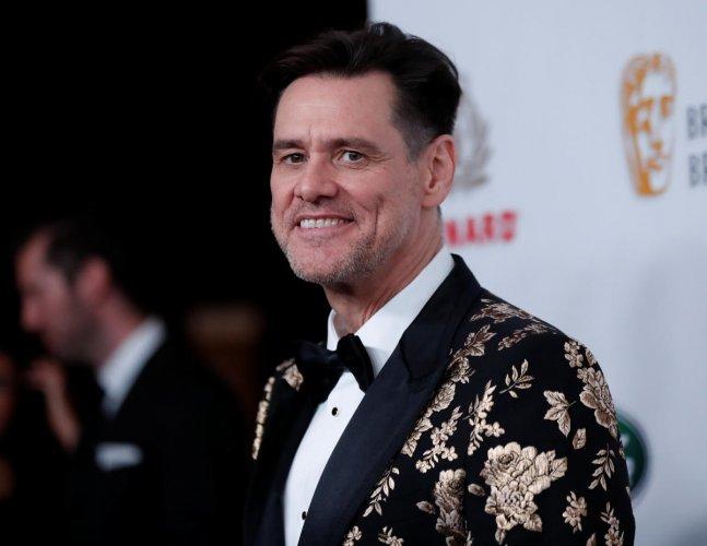 2018 British Academy Britannia Awards - Arrivals - Beverly Hills, California, U.S., October 26, 2018 - Jim Carrey poses. REUTERS