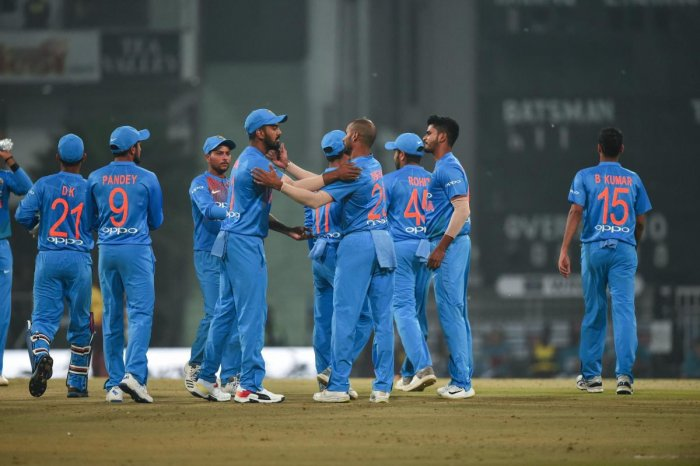 """Various members of the team took to Twitter to share their feelings ahead of their departure with chinaman Kuldeep Yadav terming it an """"exciting challenge"""". (PTI File Photo)"""