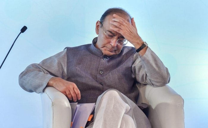 The election manifesto which was released by party leaders in presence of Union Finance minister Arun Jaitley in Bhopal, has been released in two parts, a first for the party. PTI file photo