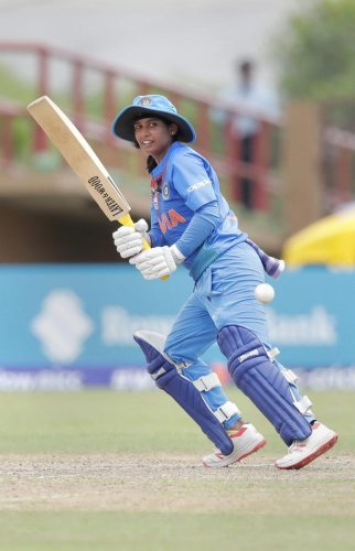 ACE PERFORMER: India skipper Mithali Raj will be looking to lead from the front when they take on formidable England in the three-match ODI series starting Friday. PTI FILE PHOTO