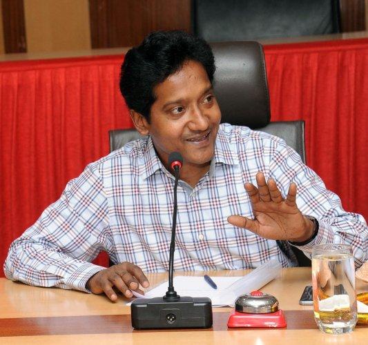 Deputy Commissioner Dr Bagadi Gautham (DH Photo)