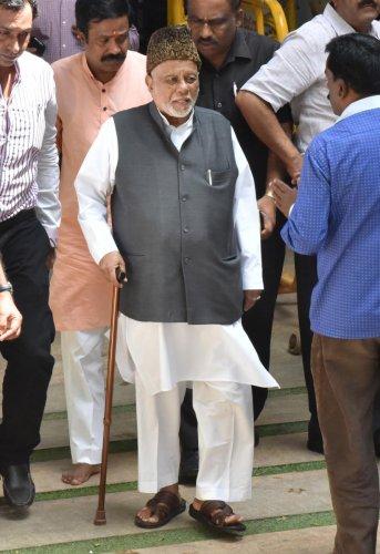 Former union minister C K Jaffer