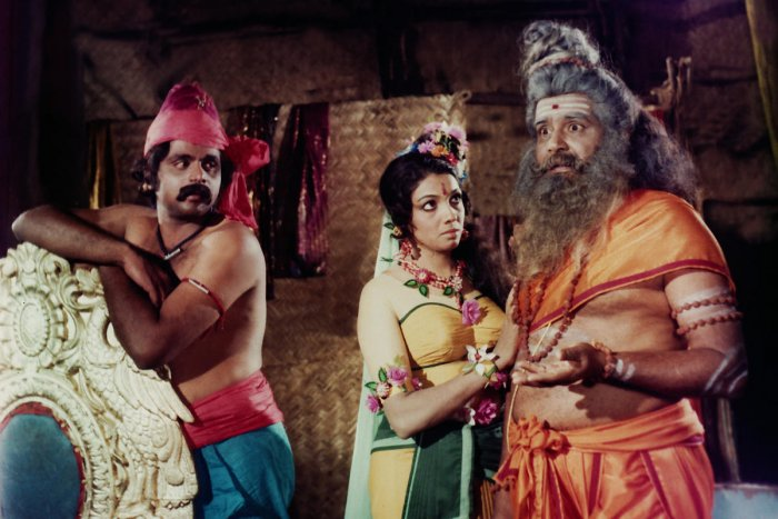 A still from the movie Ranganayaki. Image courtesy: Pragathi Ashwathanarayana