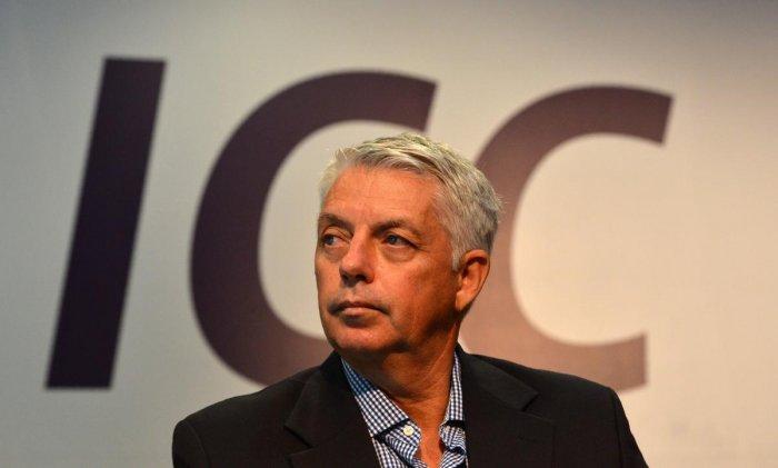 International Cricket Council (ICC) chief executive David Richardson. (AFP Photo)