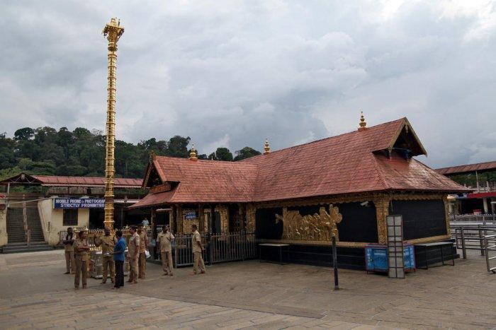 Sabarimala temple in Pathanamthitta