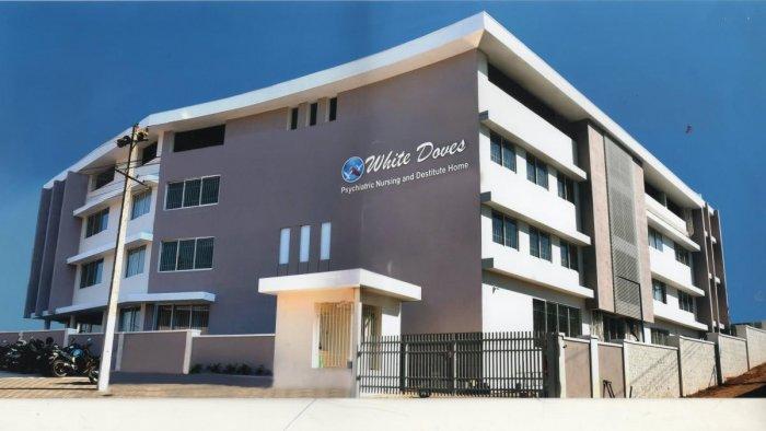 White Doves Psychiatry Nursing and Destitute Home at Niddel Gokarna Road, Maroli, at Kulshekar.