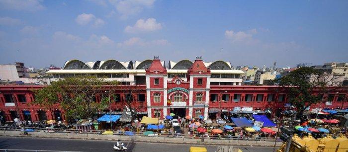 KR Market in Bengaluru. DH PHOTO/ANAND BAKSHI