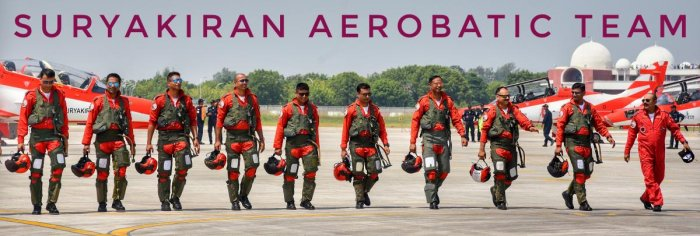 The Surya Kiran team