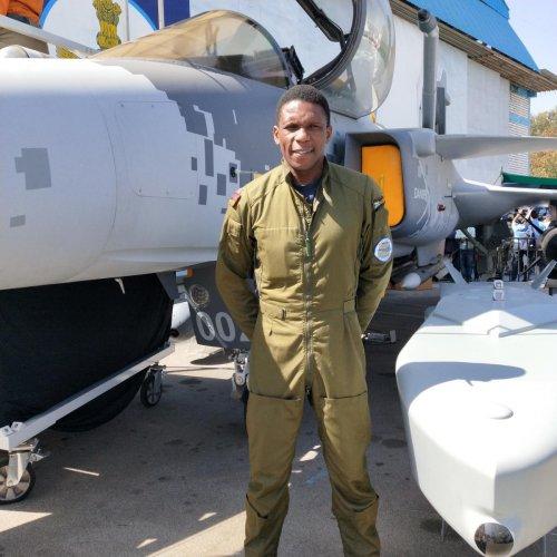 Pilot Musa Themba Mbhokota is of South African origin.