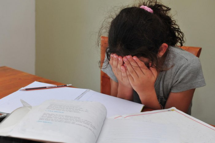 Frequent breaks while studying and relaxation techniques can reduce stress in children preparing for examinations.