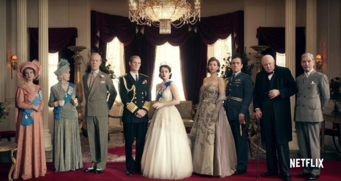 The Crown chronicles the life of Queen Elizabeth II (Claire Foy) from the 1940s to present times.