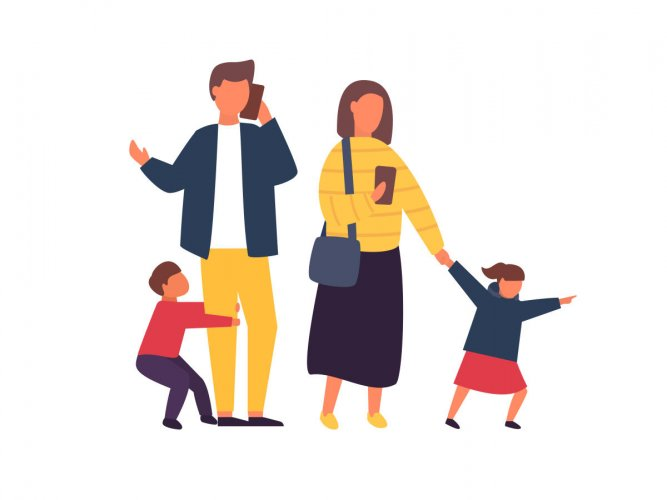 It is not conducive for parents to complete work tasks at home as it might make children feel neglected and resentful.