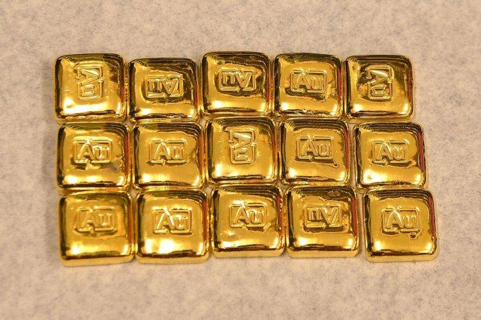 Mini gold bars. (AFP photo for representation)