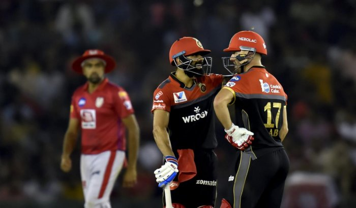 PILLARS OF STRENGTH: RCB cannot afford to over-depend on the duo of Virat Kohli and AB de Villiers. PTI