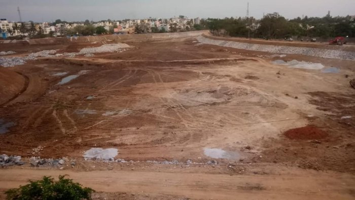 A citizen group urged the Bruhat Bengaluru Mahanagara Palike (BBMP) to revive the lake some years ago. The latter then took up rejuvenation work last year. Now, the work is almost finished.