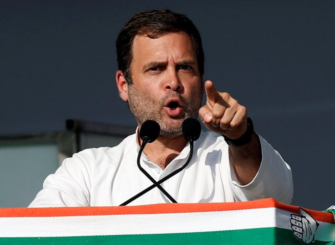 The Congress chief, however, said he was not expecting any cooperation from the prime minister and the BJP-led central government for the development of Wayanad and Kerala. (Reuters File Photo)