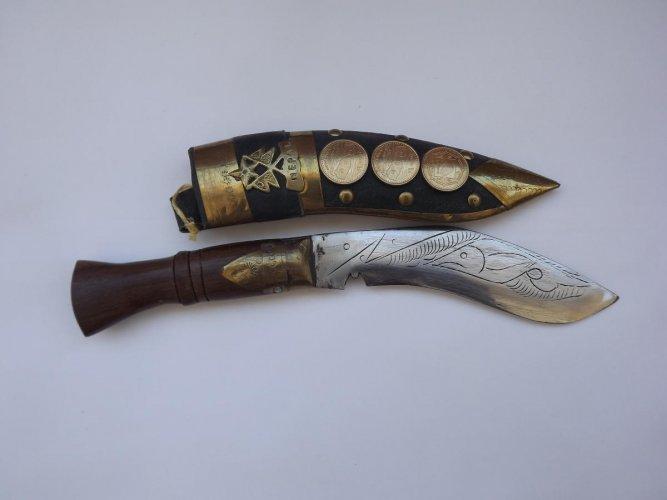 Kukri knife and sheath