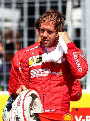 ON POLE: Ferrari's Sebastian Vettel. AFP
