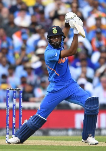 Hardik Pandya gave full view of his might in the game against Australia.
