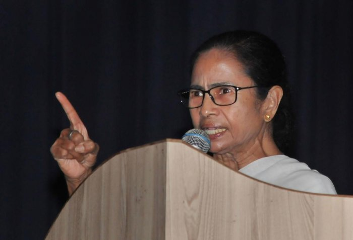 """West Bengal Chief Minister Mamata Banerjee on Wednesday described the death of CCD owner V G Siddhartha as """"very unfortunate"""". Photo credit: PTI"""