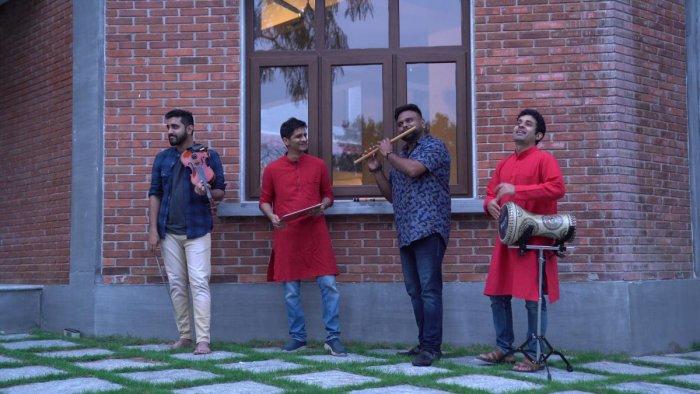 ECLECTIC BLEND Artistes collaborating for 'Marghazhi Reloaded'.