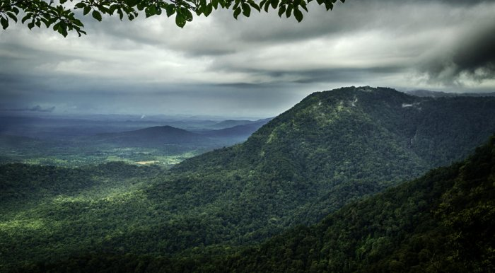 A beautiful view of Agumbe