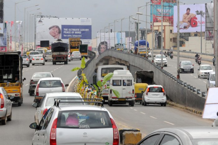 Junctions such as Nagawara, Veerannapalya and Hebbal will benefit as a result. (DH File Photo)