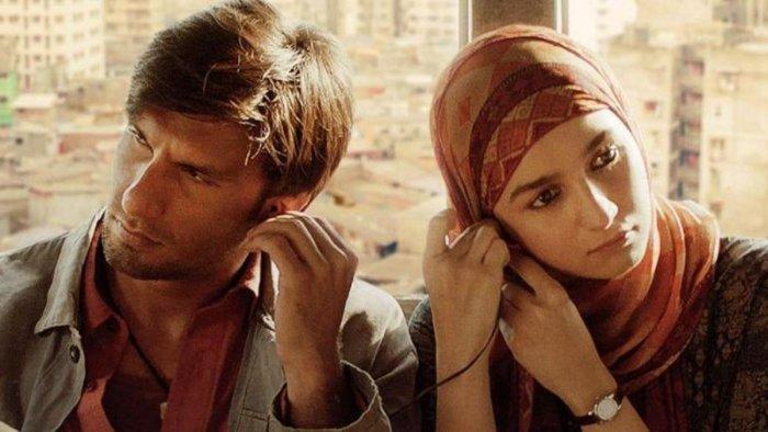 The film, starring Ranveer Singh and Alia Bhatt, was honoured with the NETPAC award.