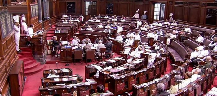 However, as Congress members started shouting against the BJP, the Chairman adjourned the House till 12 noon. (PTI File Photo)