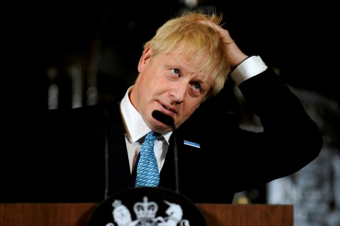 Prime Minister Boris Johnson has promised a bright future after Brexit on his first visit to Scotland. (Reuters file photo)