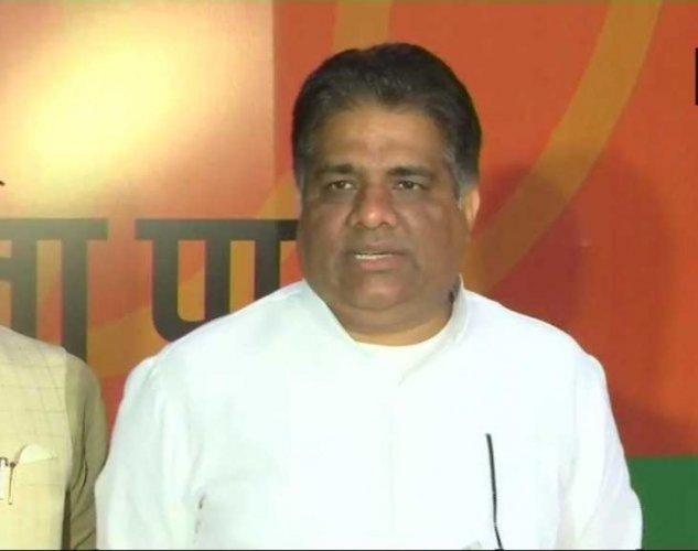 BJP General Secretary and senior MP Bhupender Yadav. (ANI Photo)
