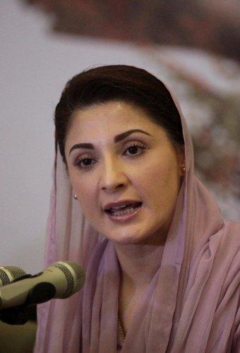 Maryam Nawaz, the daughter of Pakistan's former Prime Minister Nawaz Sharif and former leader of Pakistan Muslim League - Nawaz (PML-N) (Reuters Photo)