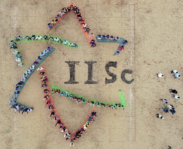 The IISc logo cost up to Rs 3.5 crore. (DH File Photo)