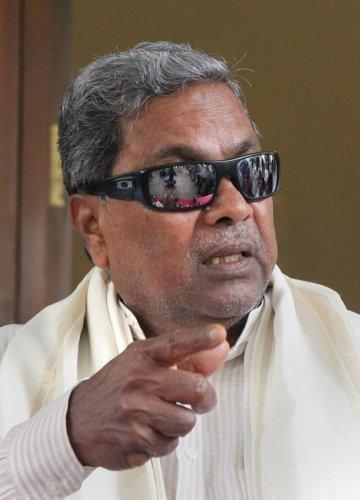 Former Karnataka chief minister Siddaramaiah (PTI Photo)