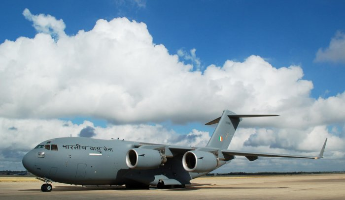 The last C-17 of the world delivered to the IAF.
