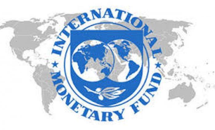 The International Monetary Fund (IMF) logo.