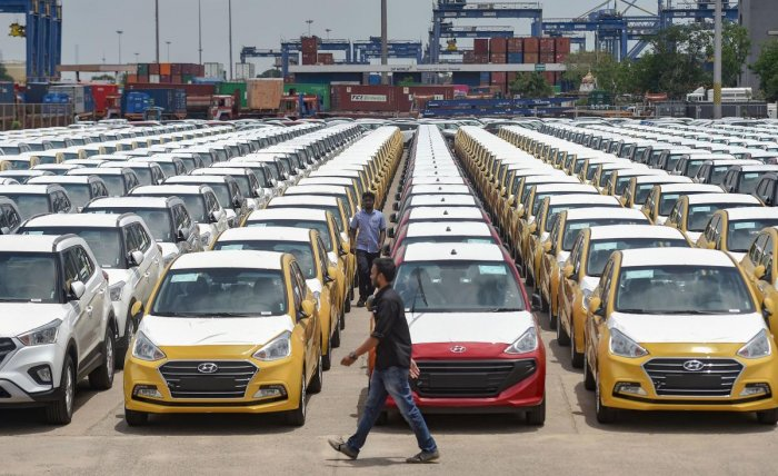 Auto manufacturers do not see any immediate succour even if the lockdown is lifted on May 3. PTI