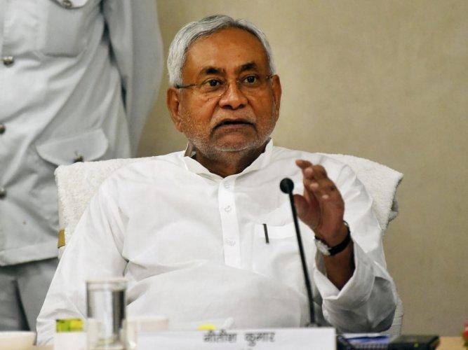 Bihar Chief Minister Nitish Kumar. (PTI File Photo)