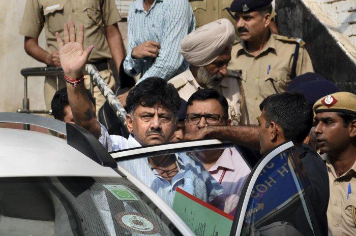 Karnataka Congress leader DK Shivakumar (PTI Photo)