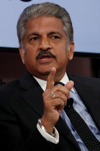 Anand Mahindra, chairman and managing director of Mahindra Group. (PTI Photo)