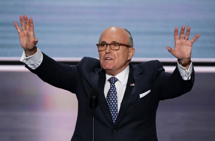 Giuliani was a force in Trump's defense during the lengthy Russia investigation by the special counsel. AFP
