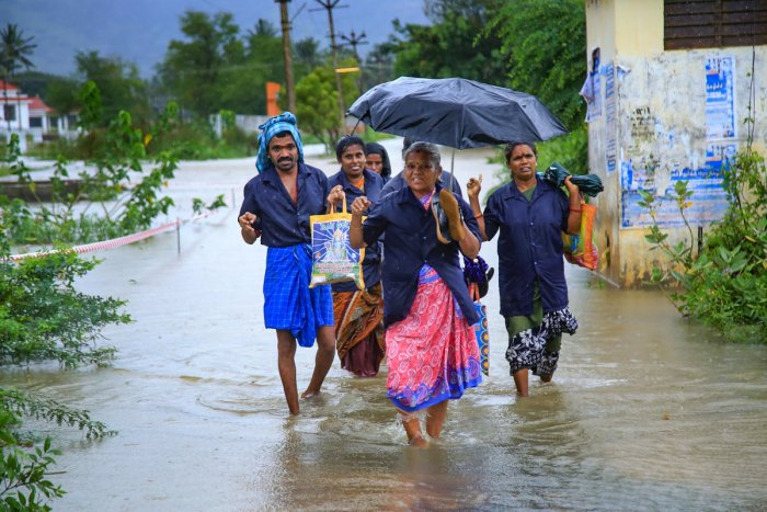 A deep depression in the Arabian Sea intensified into cyclonic storm Kyarr during early hours of Friday. (PTI File Photo)