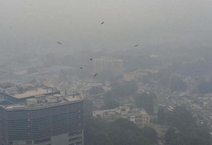 Pollution in New Delhi (PTI Photo)