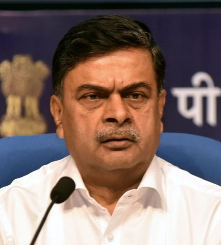 """am happy to share that as per CCPI report, released during COP 2019 at Madrid, India is ranked among the top 10 countries in CCPI,"""" said Power Minster R K Singh said on Saturday. (PTI photo)"""