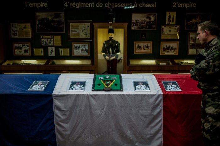 Thirteen French soldiers were killed in Mali. Photo by AFP