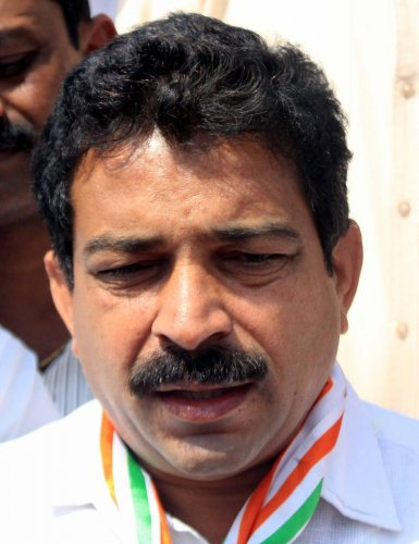 Kodagu District Congress Committee president K K Manjunath Kumar